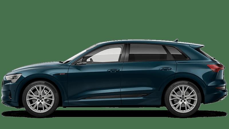 Galaxy Blue (Metallic) Audi e-tron