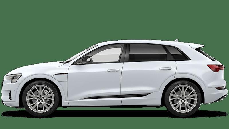 Glacier White (Metallic) Audi e-tron
