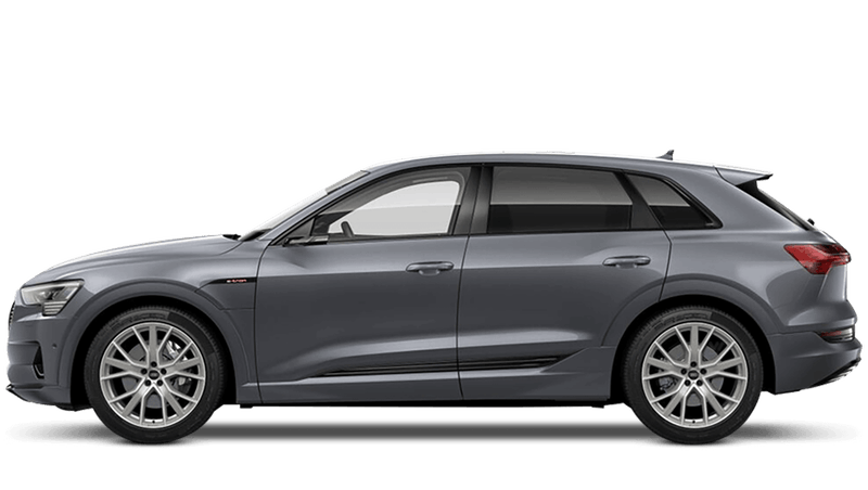 Typhoon Grey (Metallic) Audi e-tron
