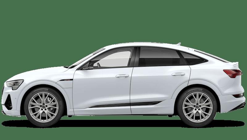 Glacier White (Metallic) New Audi e-tron Sportback