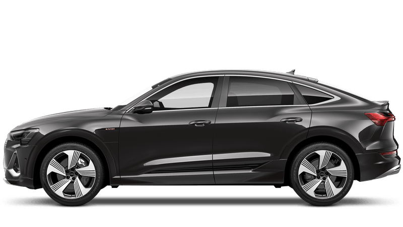 Brilliant Black (Solid) New Audi e-tron Sportback