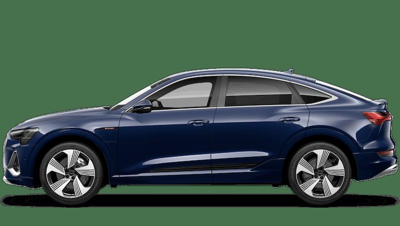 Navarra Blue (Metallic) New Audi e-tron Sportback
