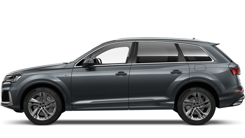 Daytona Grey (Pearl) Audi Q7 TFSI e