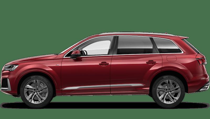Matador Red (Metallic) Audi Q7 TFSI e