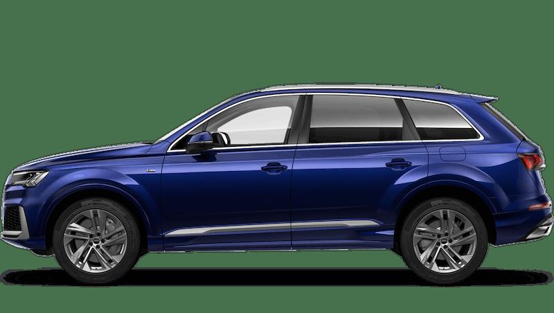 Navarra Blue (Metallic) Audi Q7 TFSI e
