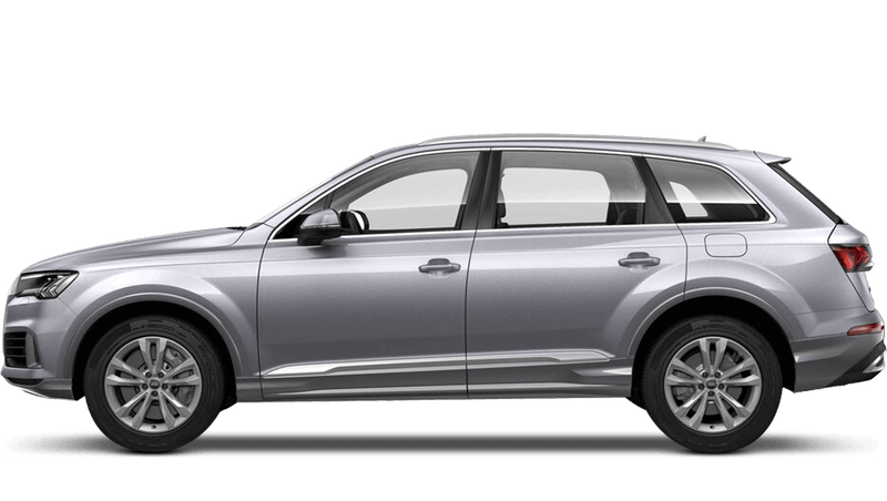 Floret Silver (Metallic) Audi Q7 TFSI e