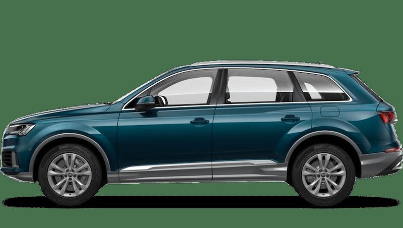 Galaxy Blue (Metallic) Audi Q7 TFSI e