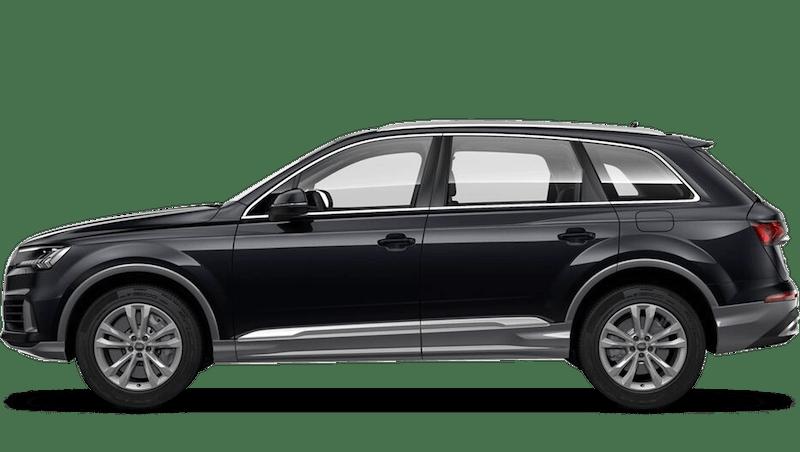 Orca Black (Metallic) Audi Q7 TFSI e