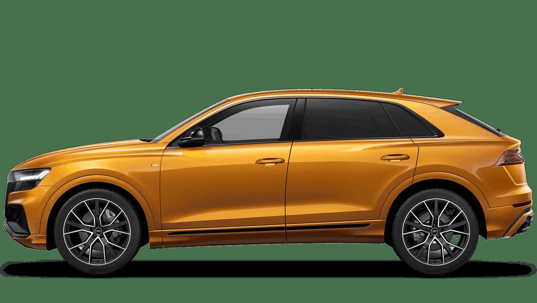 Dragon Orange (Metallic) Audi Q8
