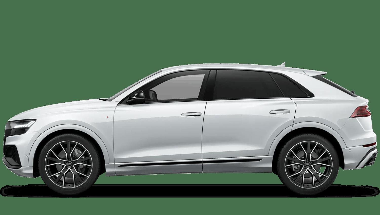 Glacier White (Metallic) Audi Q8
