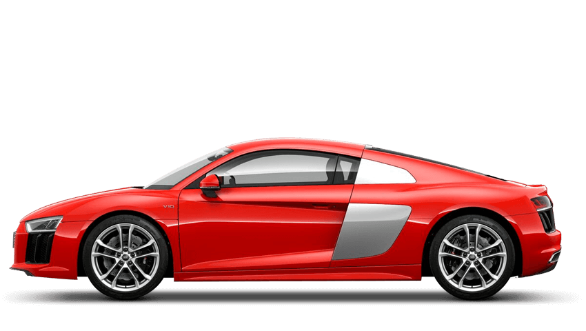 Dynamite Red (Solid) Audi R8 Coupe
