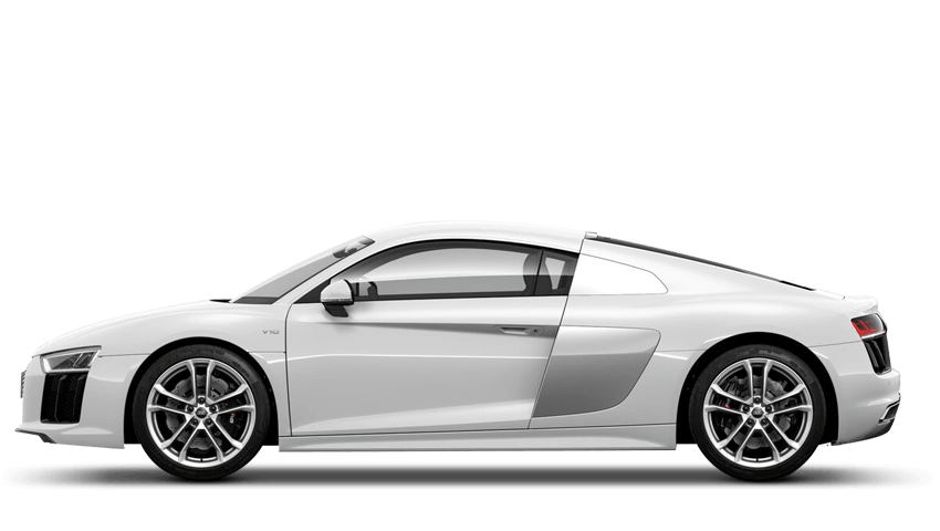 Ibis White (Solid) Audi R8 Coupe