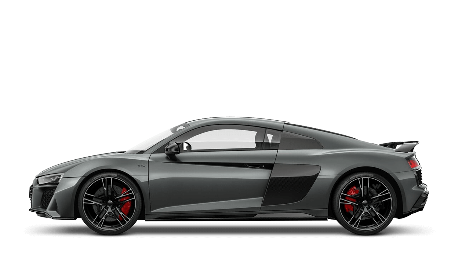 Daytona Grey (Pearl) Audi R8 Coupé