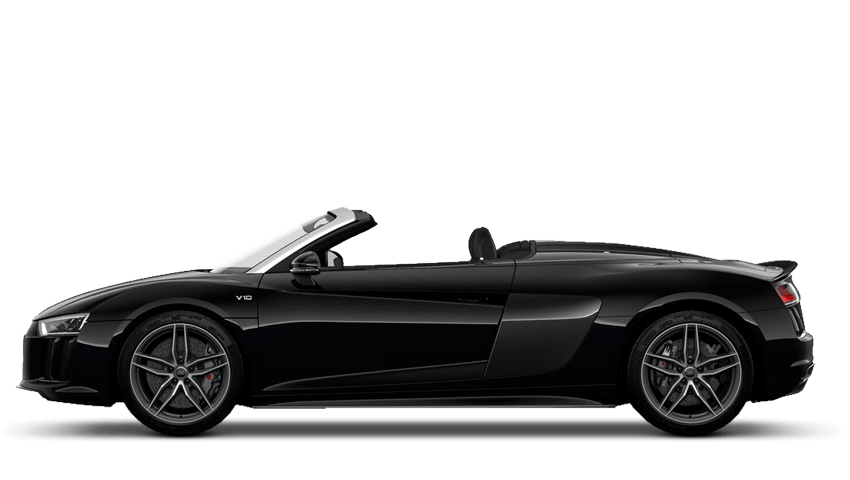 Mythos Black (Metallic) Audi R8 Spyder