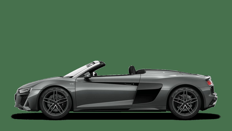 Daytona Grey (Metallic) Audi R8 Spyder
