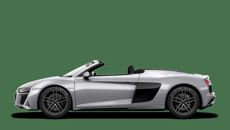 Floret Silver (Metallic) Audi R8 Spyder
