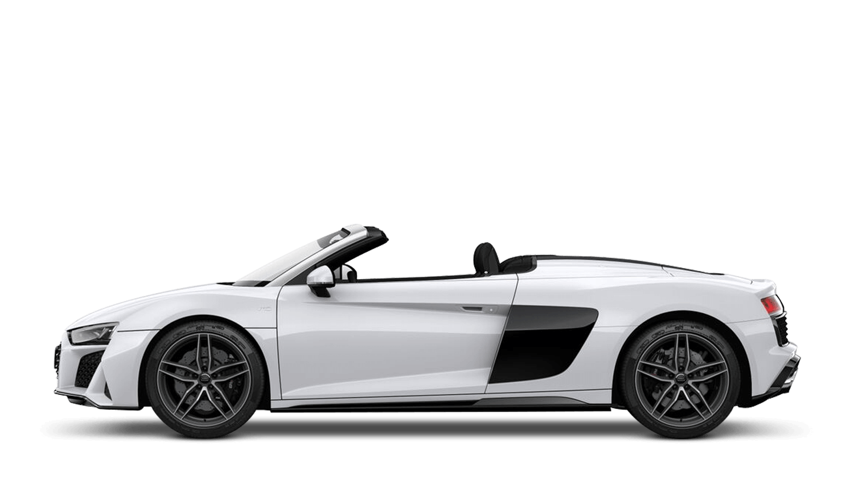 Ibis White (Solid) Audi R8 Spyder