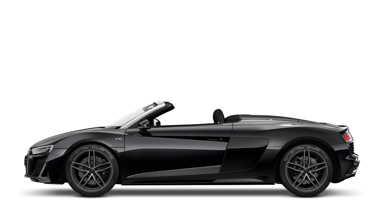 Mythos Black (Metallic) Audi R8 Spyder