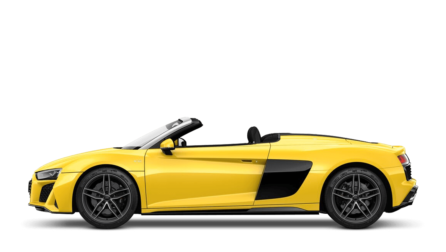 Vegas Yellow (Solid) Audi R8 Spyder