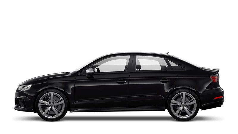 Panther Black (Crystal) Audi RS 3 Saloon