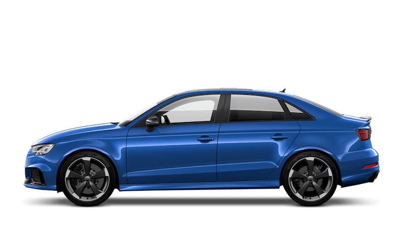 Ara Blue (Crystal) Audi RS 3 Saloon