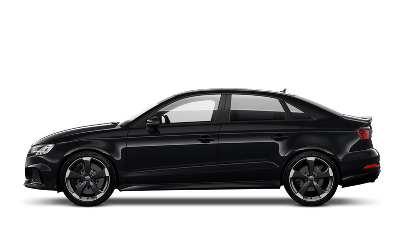 Mythos Black (Metallic) Audi RS 3 Saloon