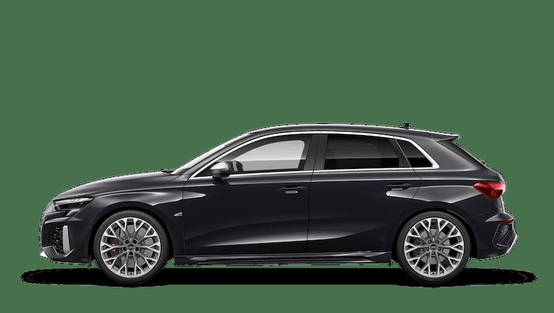 Mythos Black (Metallic) Audi RS 3 Sportback