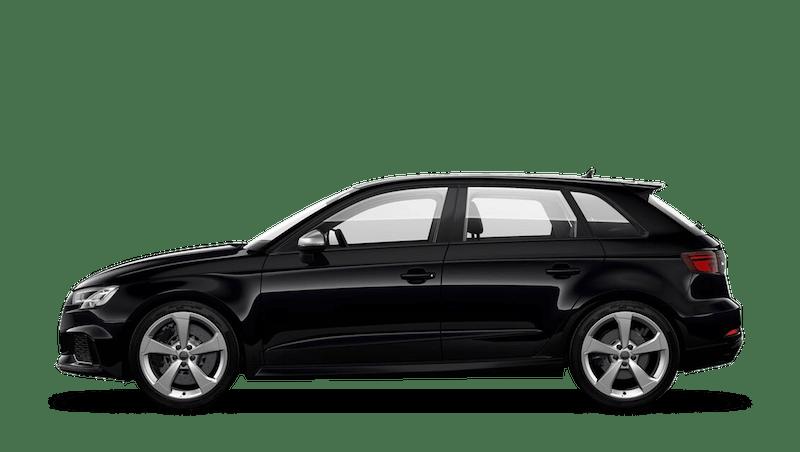 Panther Black (Crystal) Audi RS 3 Sportback
