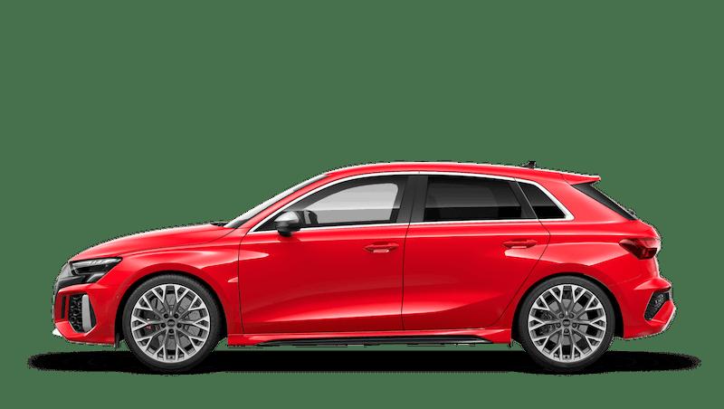 Tango Red (Metallic) Audi RS 3 Sportback