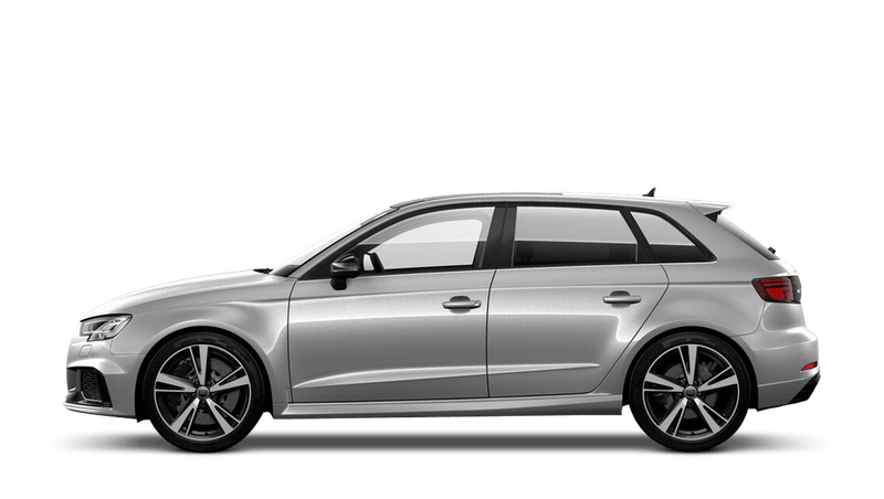 Floret Silver (Metallic) Audi RS 3 Sportback