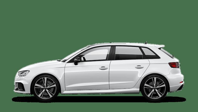 Glacier White (Metallic) Audi RS 3 Sportback