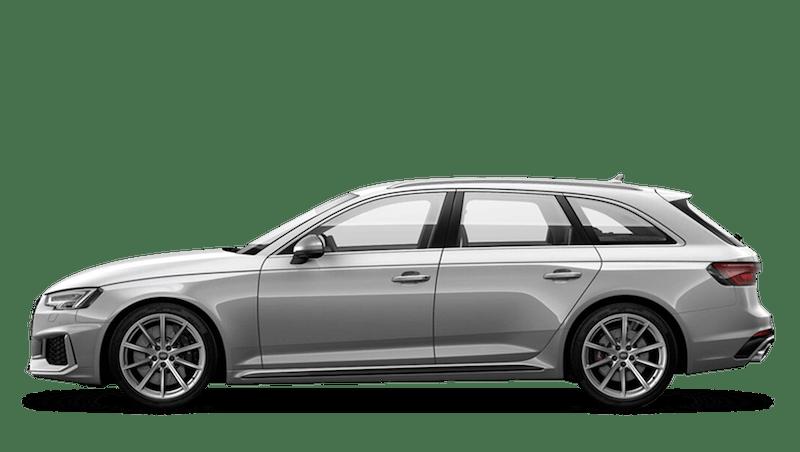 Floret Silver (Metallic) Audi RS 4 Avant