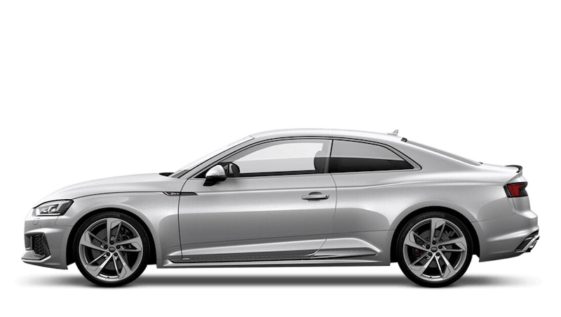 Floret Silver (Metallic) Audi RS 5 Coupe