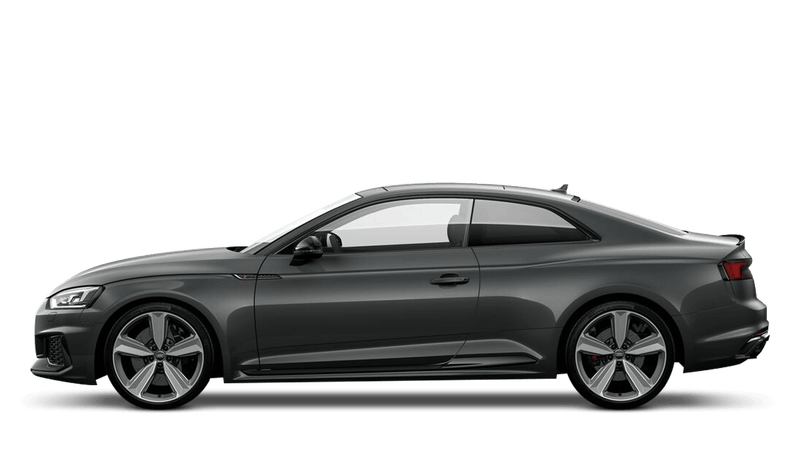 Daytona Grey (Pearl) Audi RS 5 Coupe
