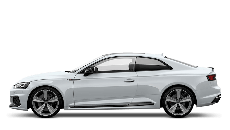Glacier White (Metallic) Audi RS 5 Coupe