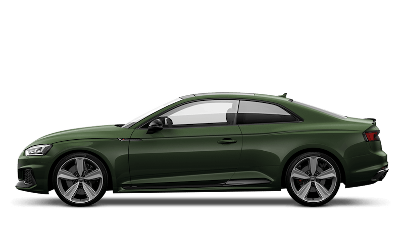 Sonoma Green (Metallic) Audi RS 5 Coupe