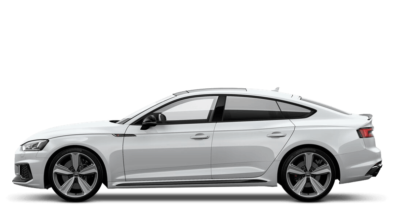 Glacier White (Metallic) Audi RS 5 Sportback