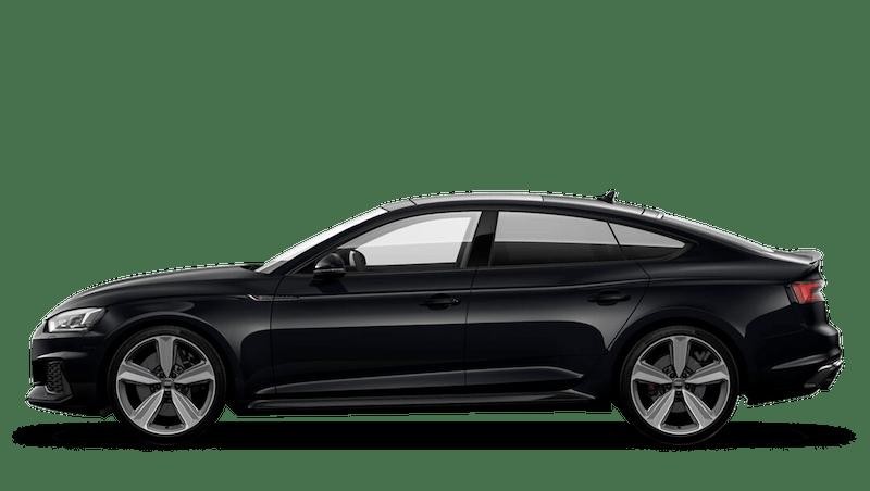 Mythos Black (Metallic) Audi RS 5 Sportback
