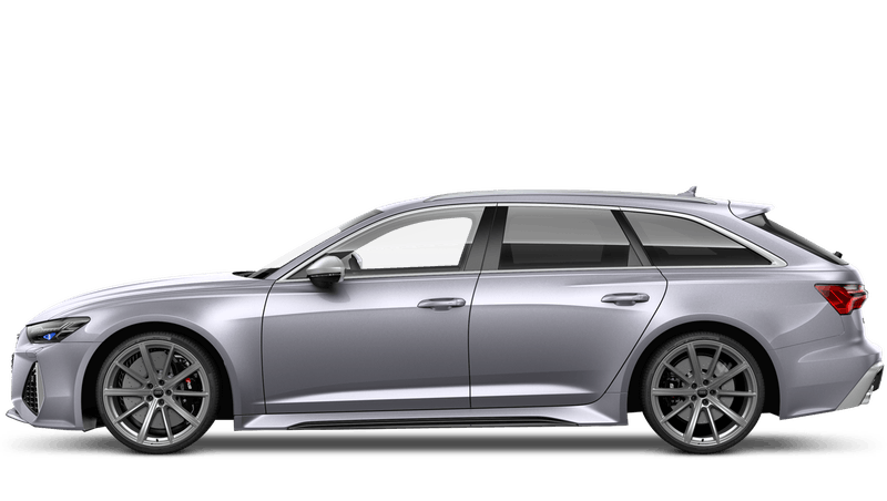 Floret Silver (Metallic) Audi RS 6 Avant