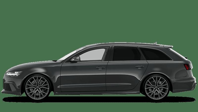 Daytona Grey (Pearl) Audi RS 6 Avant