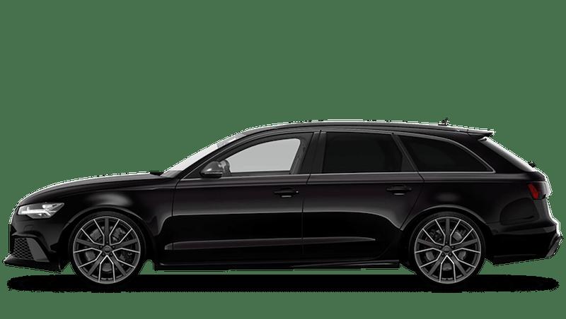 Panther Black (Special Paint) Audi RS 6 Avant