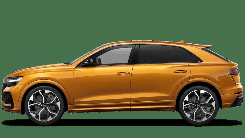Dragon Orange (Metallic) Audi RS Q8
