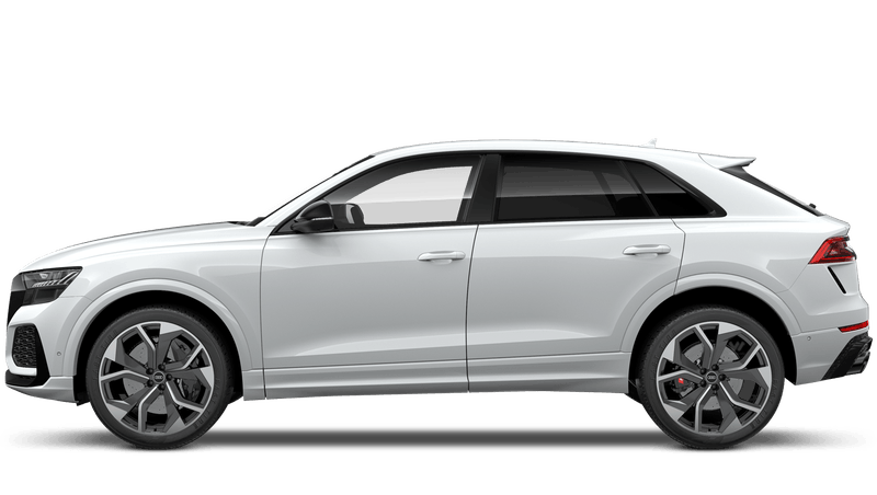 Glacier White (Metallic) Audi RS Q8
