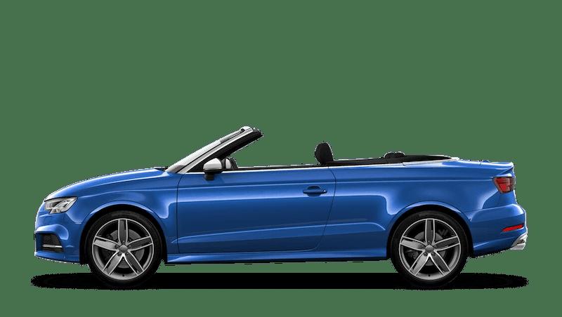 Ara Blue (Crystal) Audi S3 Cabriolet