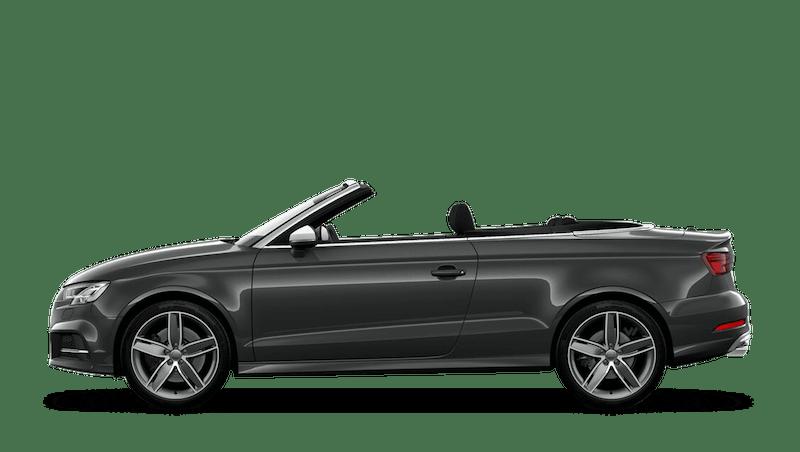 Daytona Grey (Pearl) Audi S3 Cabriolet