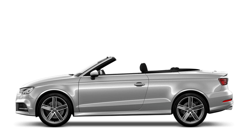 Floret Silver (Metallic) Audi S3 Cabriolet