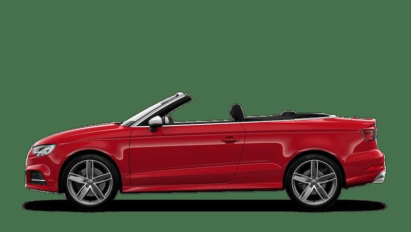 Tango Red (Metallic) Audi S3 Cabriolet