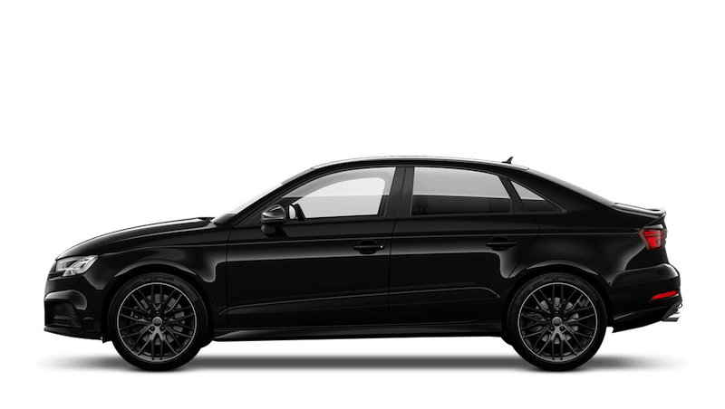 Brilliant Black (Solid) Audi S3 Saloon