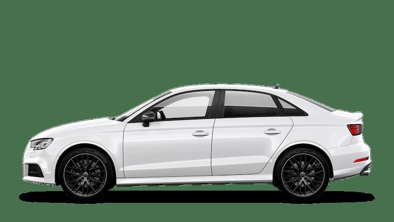 Ibis White (Solid) Audi S3 Saloon