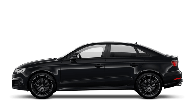 Mythos Black (Metallic) Audi S3 Saloon